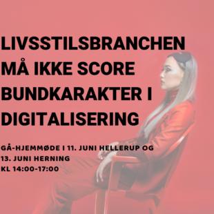 LIVSSTILSBRANCHEN MÅ IKKE SCORE BUNDKARAKTER I DIGITALISERING (1)